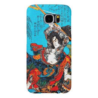 Guerrero antiguo japonés oriental fresco Jo del Funda Samsung Galaxy S6
