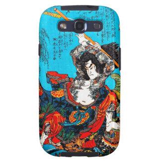 Guerrero antiguo japonés oriental fresco Jo del sa Galaxy SIII Protectores