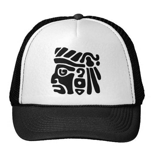 Guerrero azteca gorras de camionero