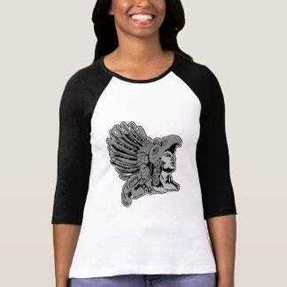 guerrero azteca camiseta