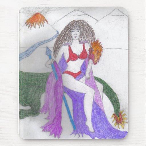 Guerrero de Cleopatra Tapetes De Raton