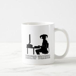 Guerrero de escritorio tazas de café