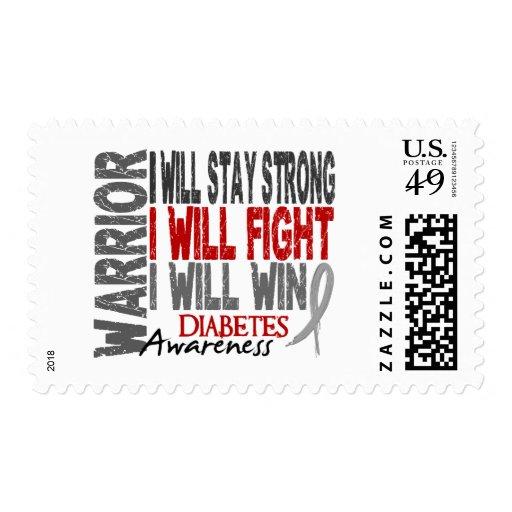Guerrero de la diabetes franqueo