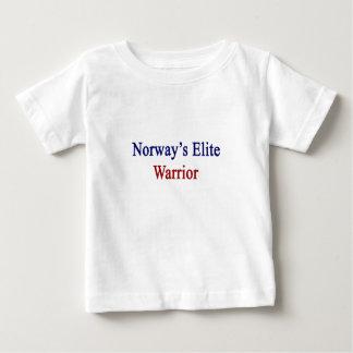 Guerrero de la élite de Noruega Playera De Bebé