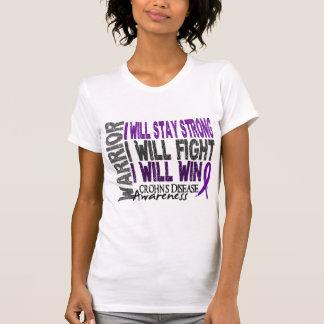 Guerrero de la enfermedad de Crohn Camisetas