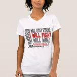 Guerrero de la enfermedad de Parkinson Camisetas