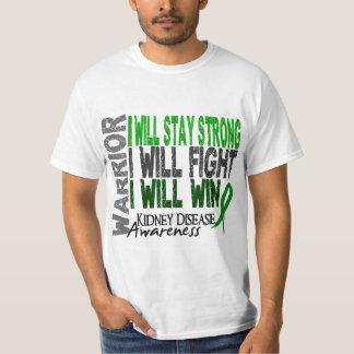 Guerrero de la enfermedad de riñón camisas
