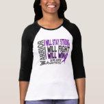 Guerrero de la epilepsia camisetas
