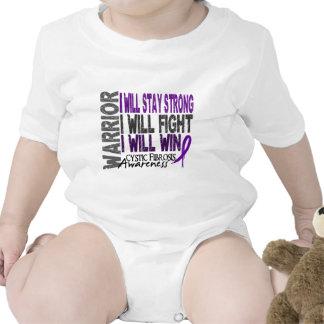Guerrero de la fibrosis quística traje de bebé