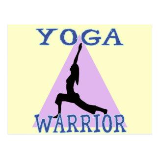Guerrero de la yoga postal