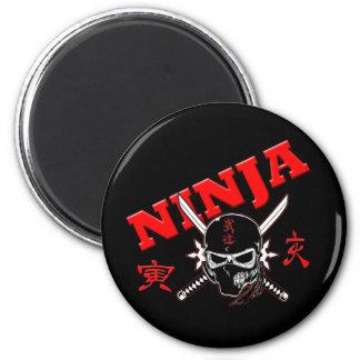 Guerrero de Ninja Imán Redondo 5 Cm