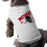 Guerrero de Ninja Ropa Para Mascota