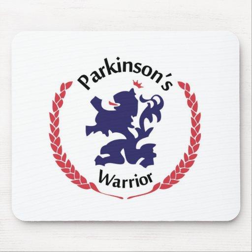 Guerrero de Parkinsons Alfombrillas De Ratones
