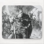 Guerrero de Viking Alfombrilla De Raton