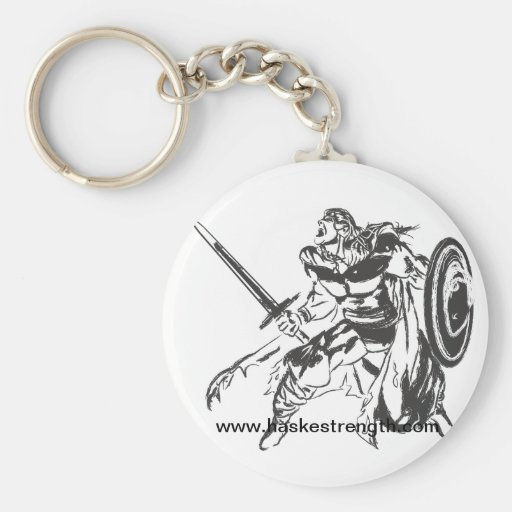 Guerrero de Viking con llavero alterno del logotip