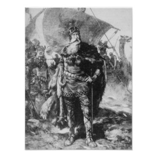 Guerrero de Viking Poster