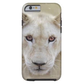 Guerrero del alcohol del león funda para iPhone 6 tough