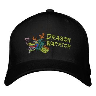 Guerrero del barco del dragón gorra bordada
