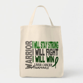 Guerrero del cáncer de hígado bolsa tela para la compra