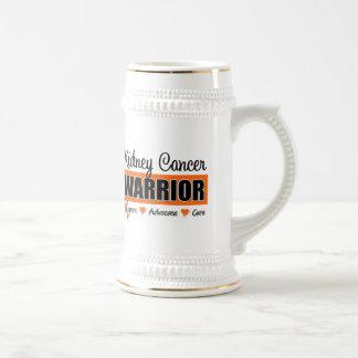 Guerrero del cáncer del riñón tazas de café