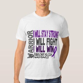 Guerrero del Fibromyalgia Camisas