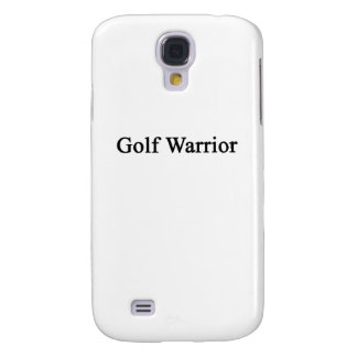 Guerrero del golf funda para galaxy s4