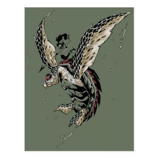 guerrero del hawksbill postales