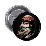 Guerrero del indio del nativo americano pin