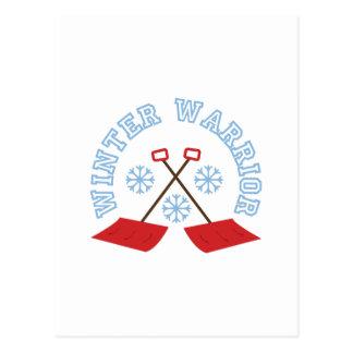 Guerrero del invierno postal