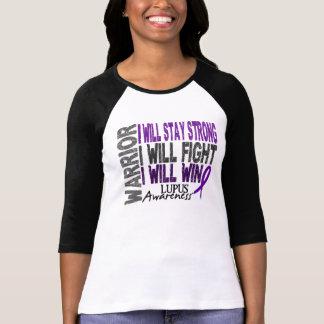 Guerrero del lupus camisas