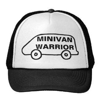 Guerrero del minivan gorras de camionero