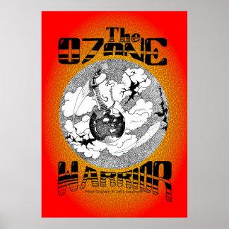 Guerrero del ozono póster