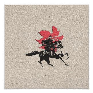 Guerrero del samurai cojinete
