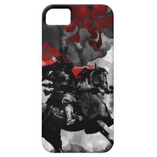 Guerrero del samurai iPhone 5 cárcasas