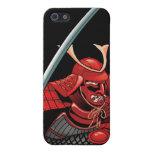 Guerrero del samurai iPhone 5 carcasas