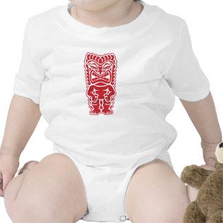 guerrero del tótem del tiki traje de bebé