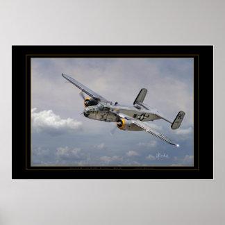 Guerrero del yanqui B-25 Impresiones