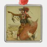 Guerrero del Zulú, Utimuni, sobrino de Chaka el úl Ornamentos De Reyes Magos