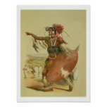 Guerrero del Zulú, Utimuni, sobrino de Chaka el úl Póster