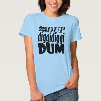 """Guerrero """"Diggidiggi Dum """" de B.A.P Playera"""
