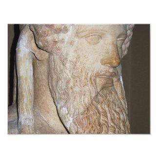 Guerrero espartano del griego clásico anuncio