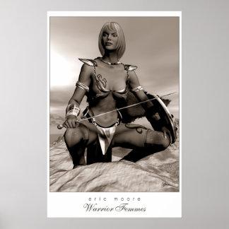 Guerrero Femmes-Ihara Póster