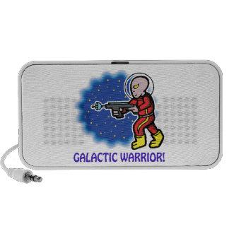 Guerrero galáctico altavoz de viaje