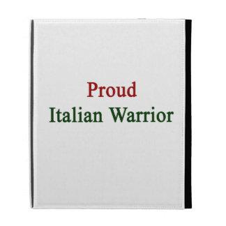 Guerrero italiano orgulloso