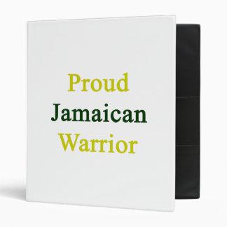 Guerrero jamaicano orgulloso