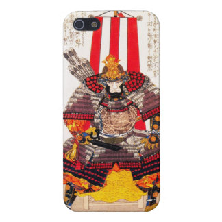Guerrero japonés clásico oriental fresco del iPhone 5 funda