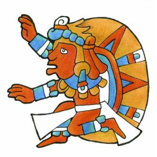 Guerrero maya v.1 imán fotoescultura