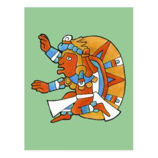 Guerrero maya v.1 postales