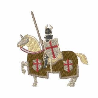 Guerrero medieval de Templar de los caballeros Chaqueta Bordada