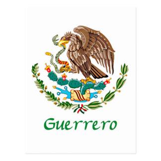 Guerrero Mexican Eagle Postcard